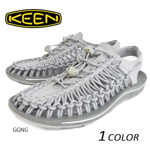 サンダル KEEN キーン UNEEK 3C ユニーク スリーシー Glacier Gray/Neutral Gray 1014889/1014877 DD1 E26